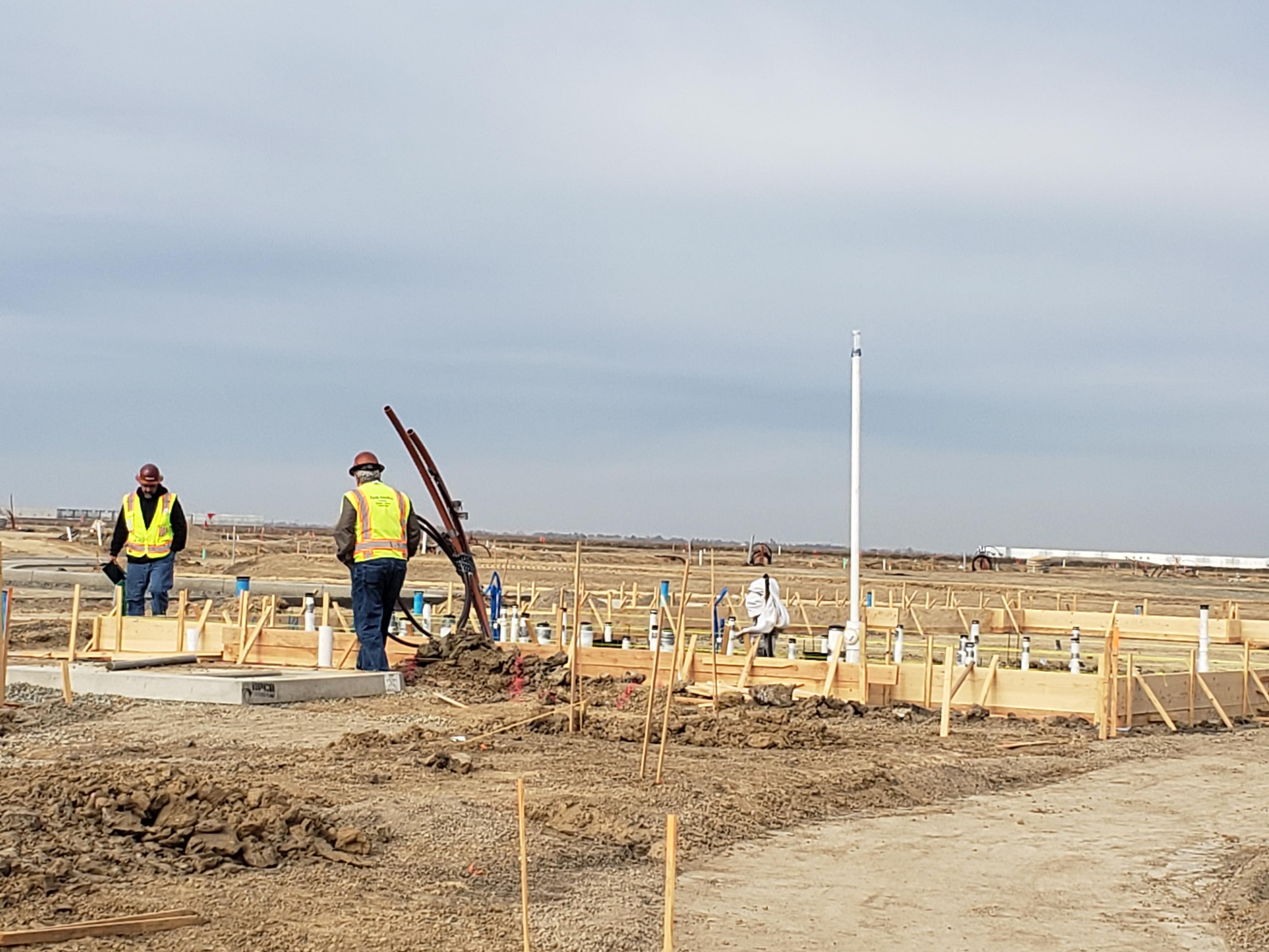 PIW inspectors at construction jobsite